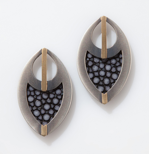 Stingray Feather Stud Earrings.jpg