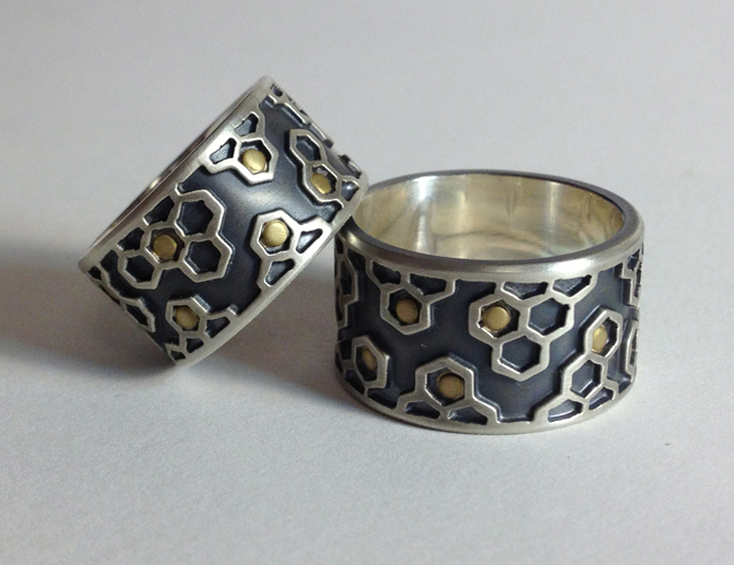 honeycomb ring set.jpg