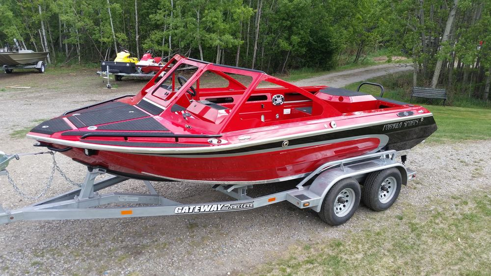 17' firefish piranha jet boat<br>customized from bare hull