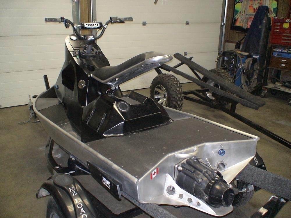 Custom Built<br>Aluminum Watercraft