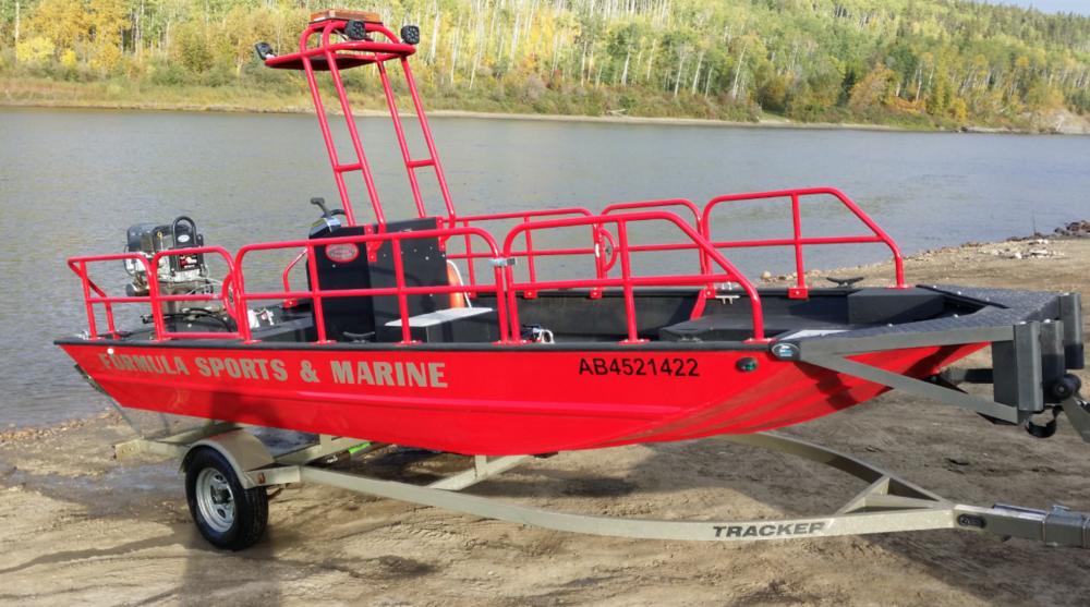 Oilsand<br>work boat<br>Ledcor