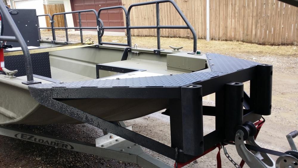 Work boat<br>push bumper