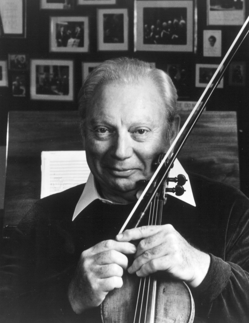 Legendary violinist, Isaac Stern