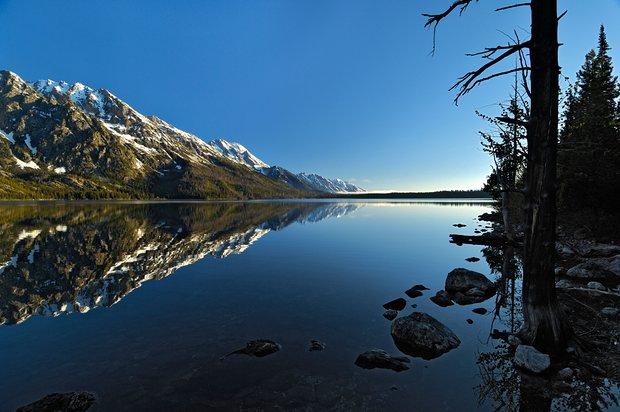 Dawn in Grand Teton national park. Photo: Alamy