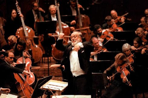 The late NYPO music director, Kurt Masur.
