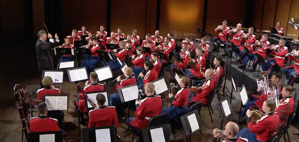 In Honor Of Veteran's Day Weekend, All-Star Orchestra Kicks Off Collaboration With U.S. Marine Band
