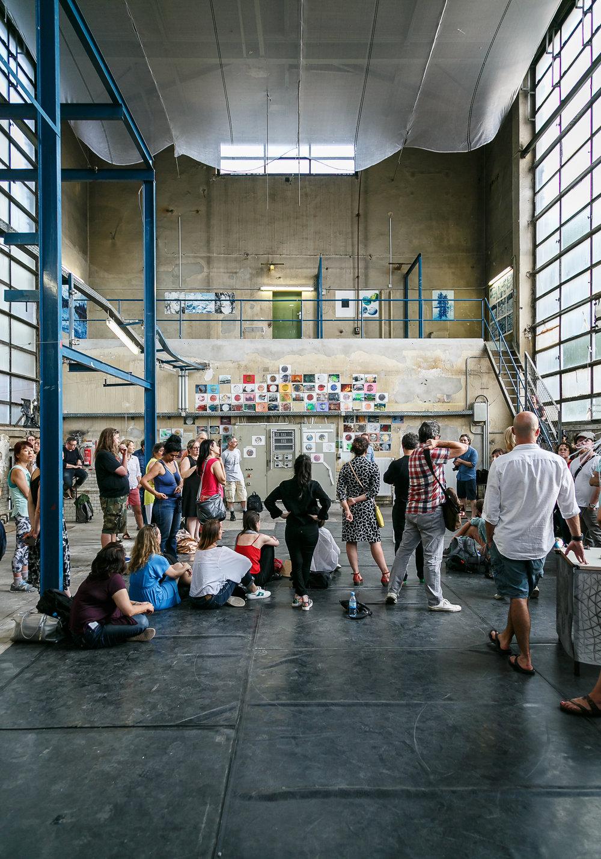 Summer residency presentation summer 2016, Berlin. Photo: Aleks Slota.