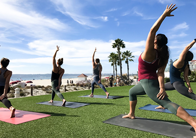 """Take A Holiday Breath"" lululemon Yoga Series"