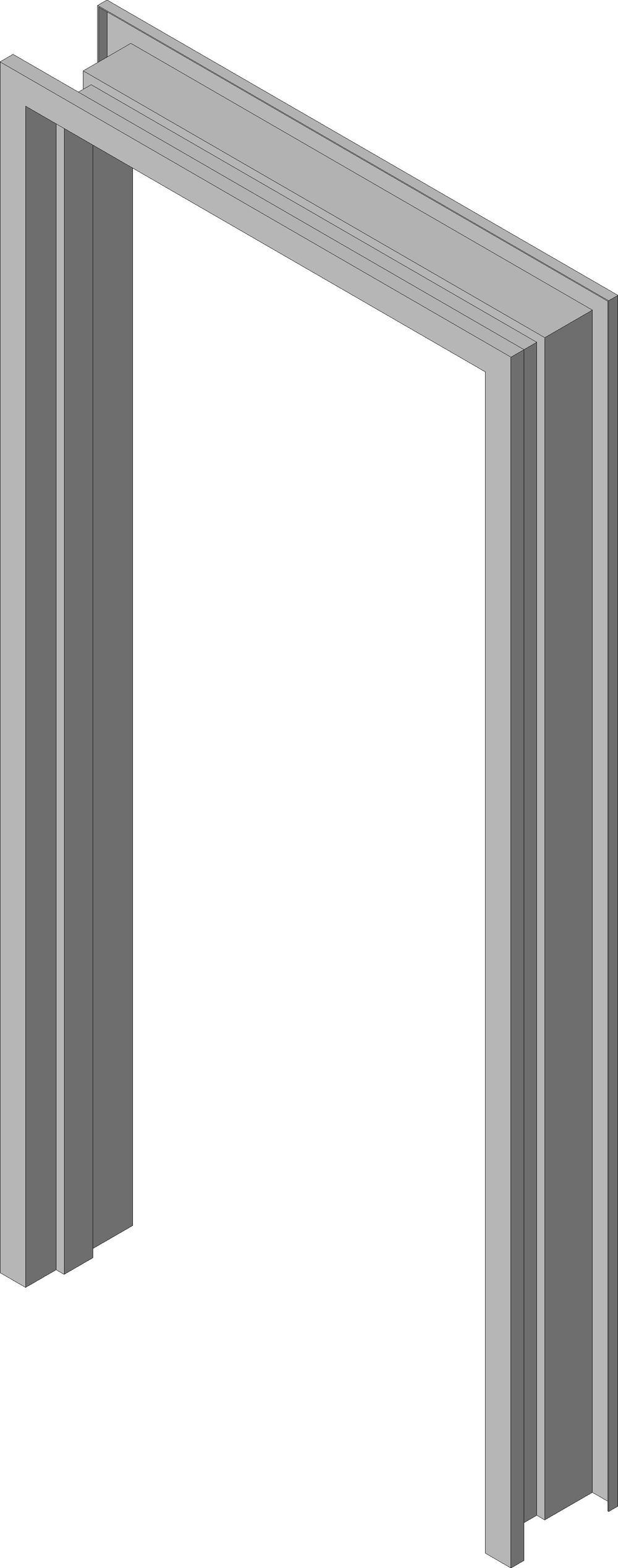 Marcos de Puerta de Acero