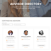 Add your profile page in the HIA® Advisor directory