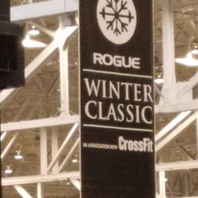 Dr. Wolk was at the #roguewinterclassic yesterday. Met some great athletes and docs. Special thanks to @codechiro for putting the treatment team together. #chiro #activereleasetechnique #clevelandclinic #getfitexpo #rocktape #normatec