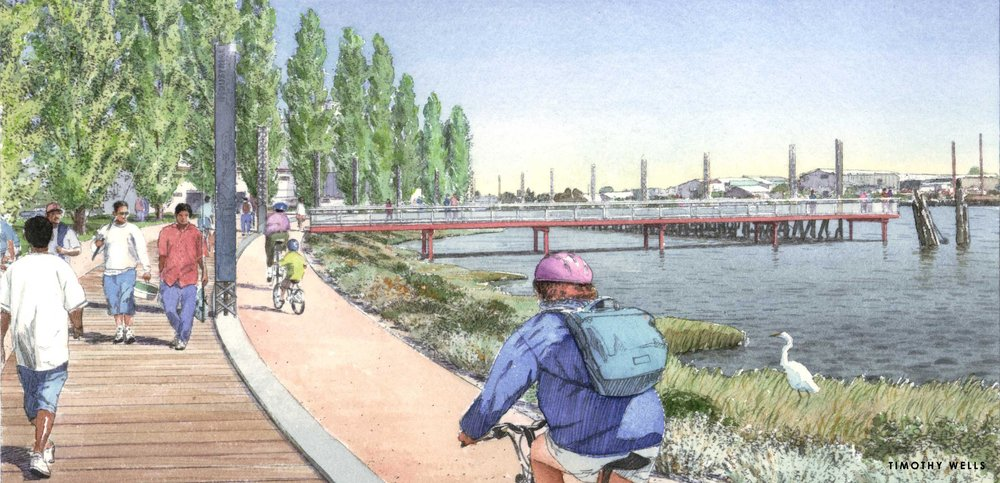 OAKLAND WATERFRONT TRAIL - OAKLAND, CA