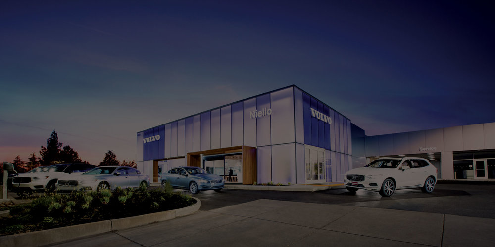 The new Volvo facility in Sacramento, California represents the contemporary luxury experience of the Volvo brand. The modern, etched glass façade contrasts the warm and comfortable interior that is uniquely Volvo and influenced by Scandinavian design. The appearance of the etched glass façade changes throughout the day - white and solid during daylight hours and translucent with changing colors during the evening.