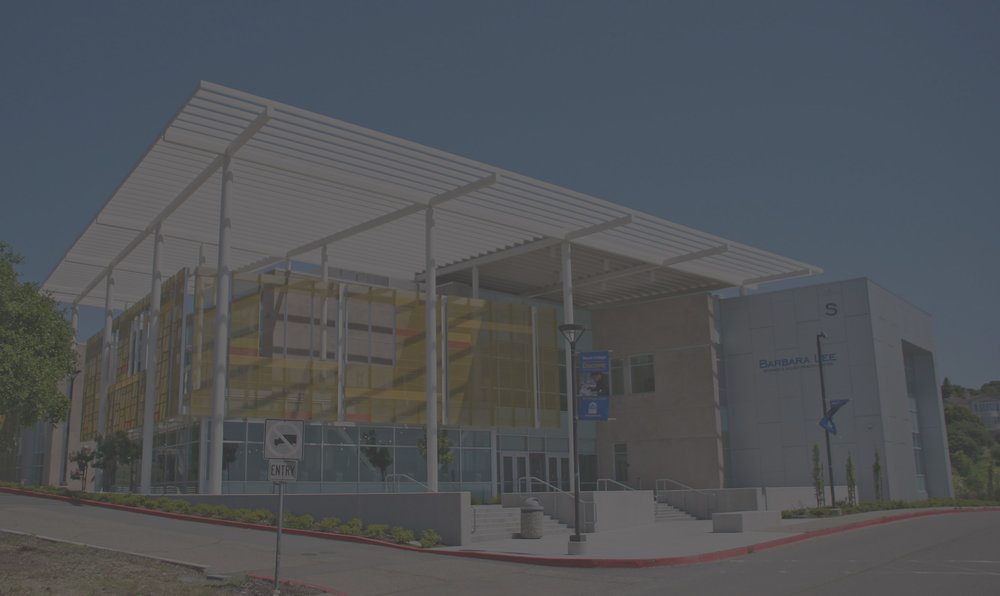 murakami/Nelson was part of the design build team of Clark & Sullivan / Walsh and JK Architecture for a new 110,000 square foot, LEED Gold science building at Merritt College. The facility was designed to achieve a number of goals including enhancing the student learning environment, promoting and accommodating the growth of departments and energizing the campus. The Center houses all of Merritt College's science and health programs along with mathematics and business technology. The overall design concept encourages an open exchange of ideas, collaboration and active learning. The building shell integrates an abstraction of the human DNA sequence in the building's sunscreen system and in a curved helix-shaped exterior stair.