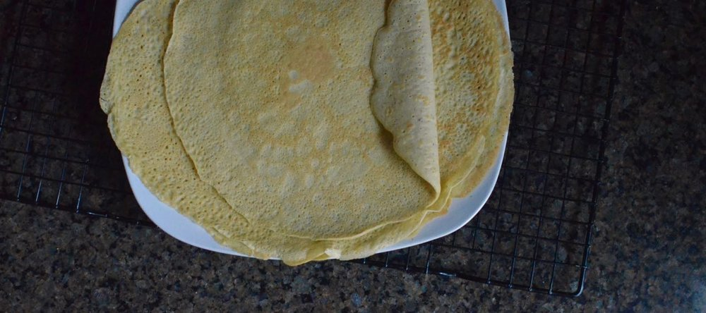 the best crepe recipe gluten free and dairy free