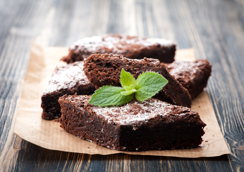 Paleo brownies with cassava flour