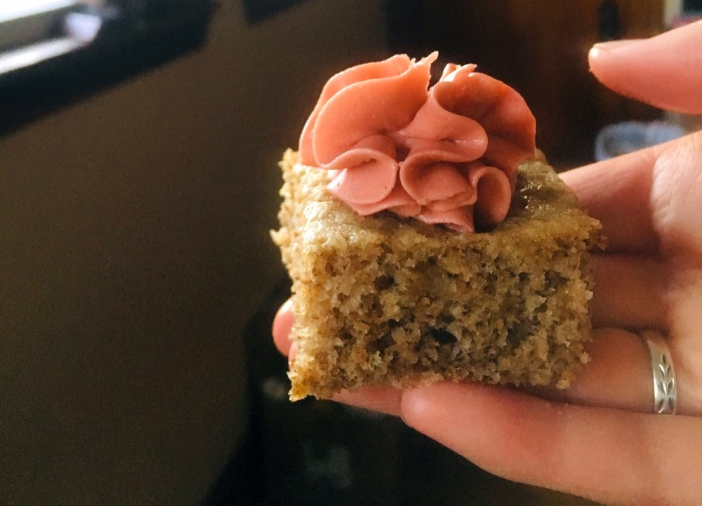 walnut almond cake gluten free dairy free recipe