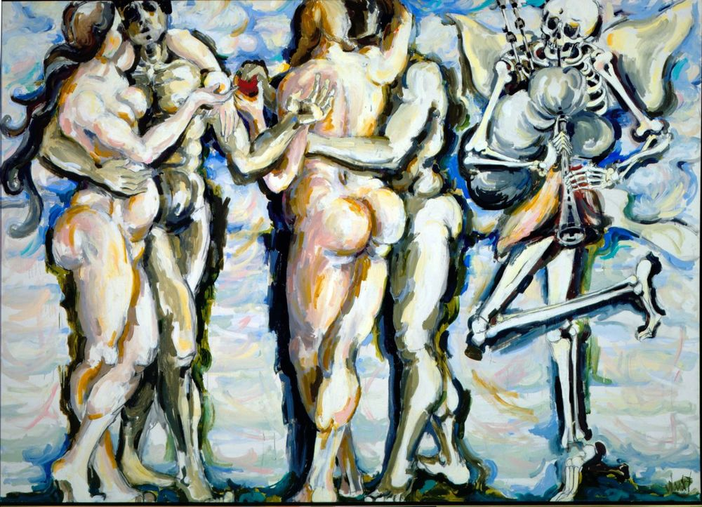 Dance of Death, 1956, 6x8'
