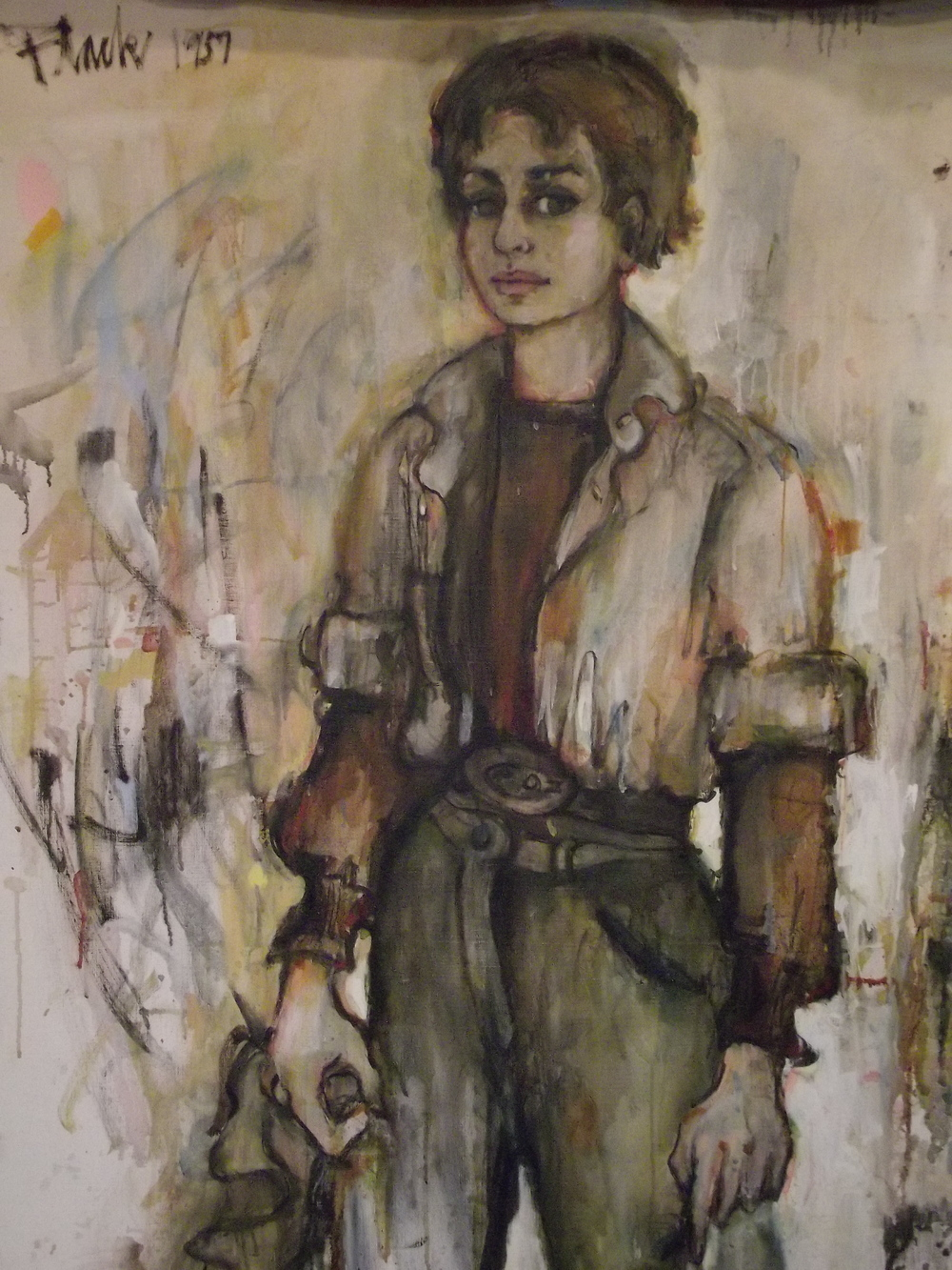 Self Portrait 1957