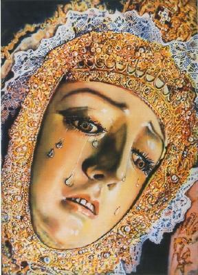"Dolores of Cordoba, 1971, 70""x50"""