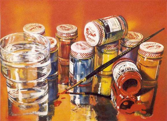 """Rich Art, 1972-73, 36""""x50"""""""