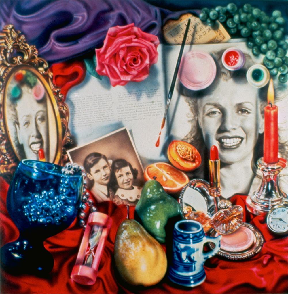 """Marilyn (Vanitas) 1977, 96""""x 96"""""""