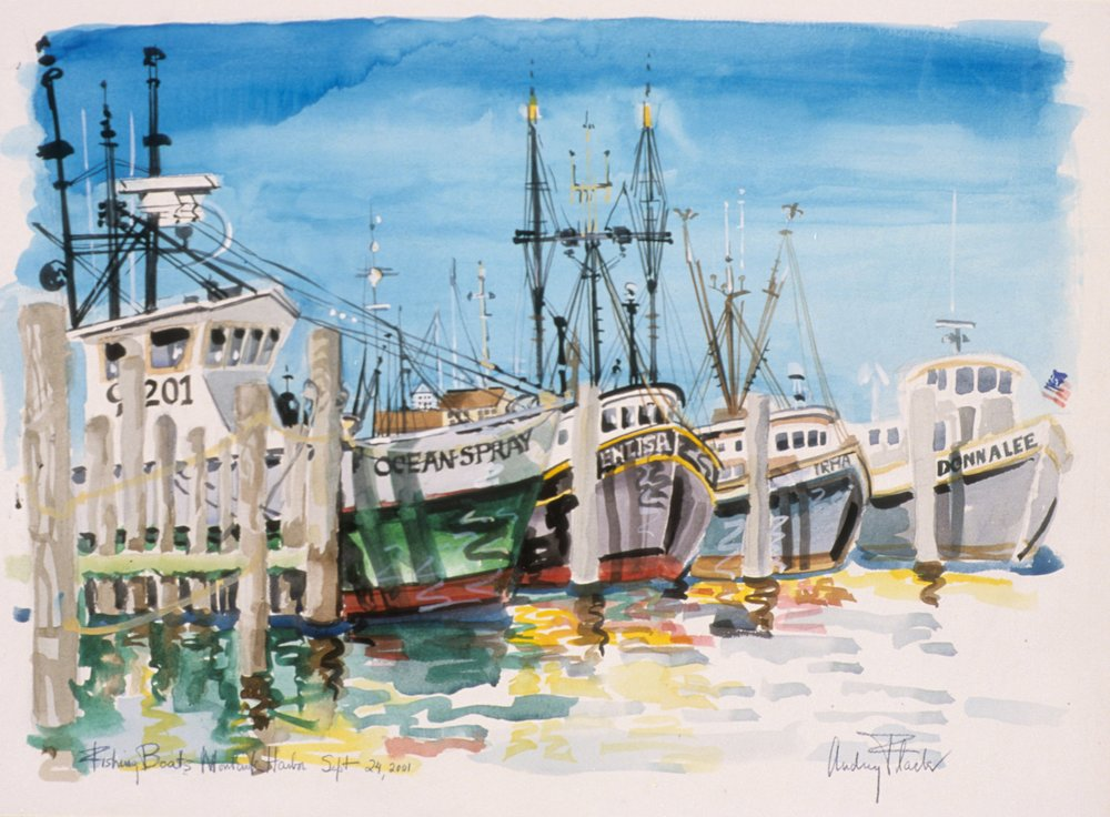 Flack_Montauk Harbor Sept 28 2001_2001_watercolor.jpg