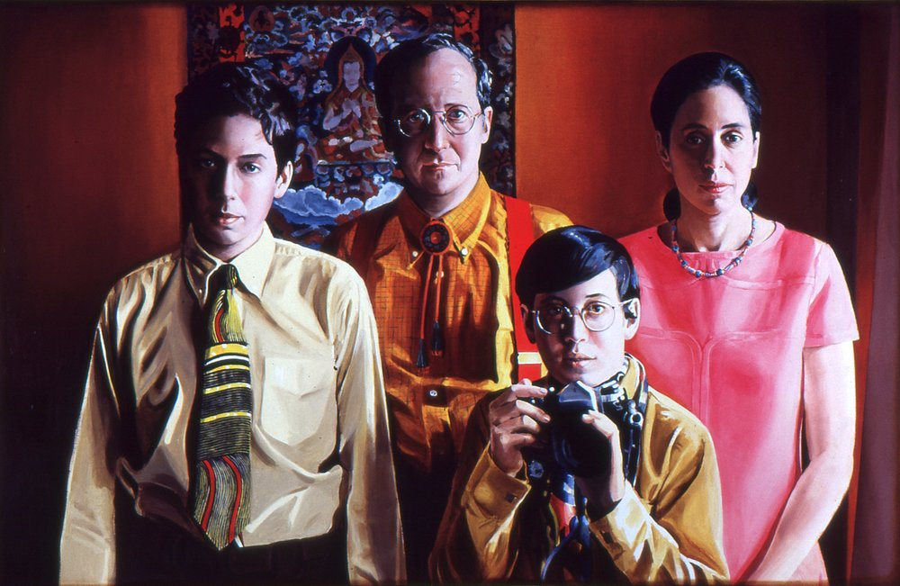 "Farb Family Portrait, 1969-70, 40""x60"""