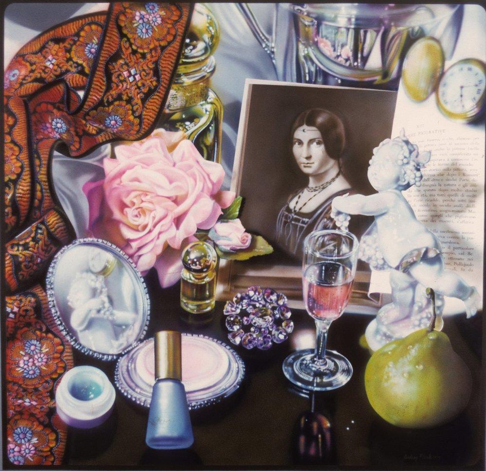 """Leonardo's Lady, 1975, 74""""x80"""""""