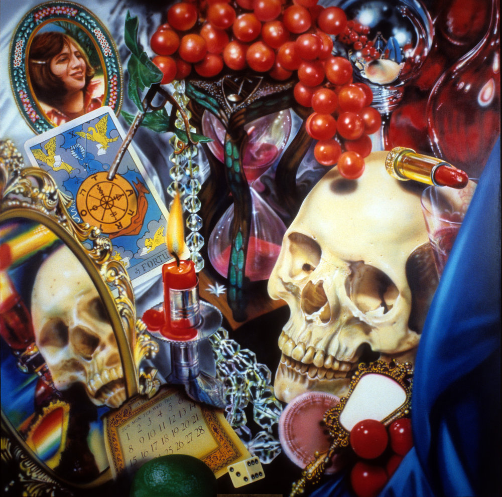 "Wheel of Fortune (Vanitas) 1977-78 96""x96"""