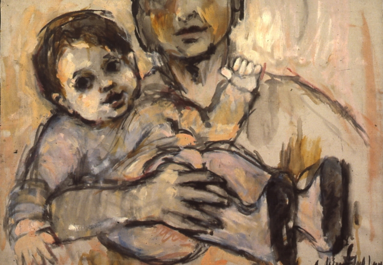 """Melissa and Me, 1959, 19x26"""""""