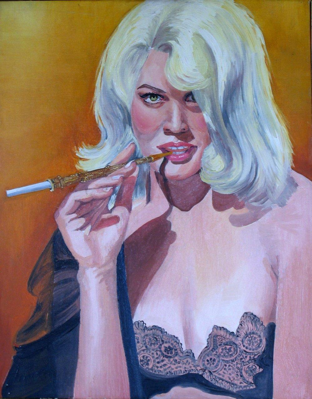 "Carroll Baker, 1964, 20x16"""