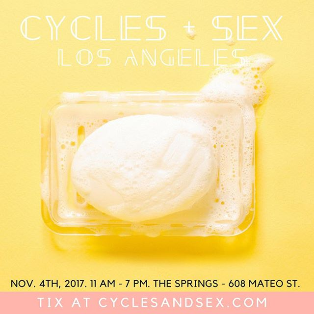 Missing @thespringsla?? Us too! Check out this incredible event taking place in our space next weekend... . . . If you have a uterus or if you came from one -- CYCLES+SEX is for you.  Sat, Nov 4.  Why? Info on sex, menstruation, birth and reproductive health is too often shame-inducing, intimidating and hard to find -- yet vital to our collective health and well-being. And, reproductive rights under threat...again. Now is the time to become educated, support one another, take action to protect ourselves and make informed choices  about our bodies. Ticket link in @cyclesandsex bio.