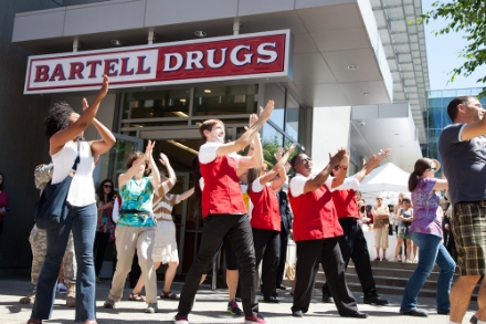 Flash Mob at South Lake Union Grand Opening