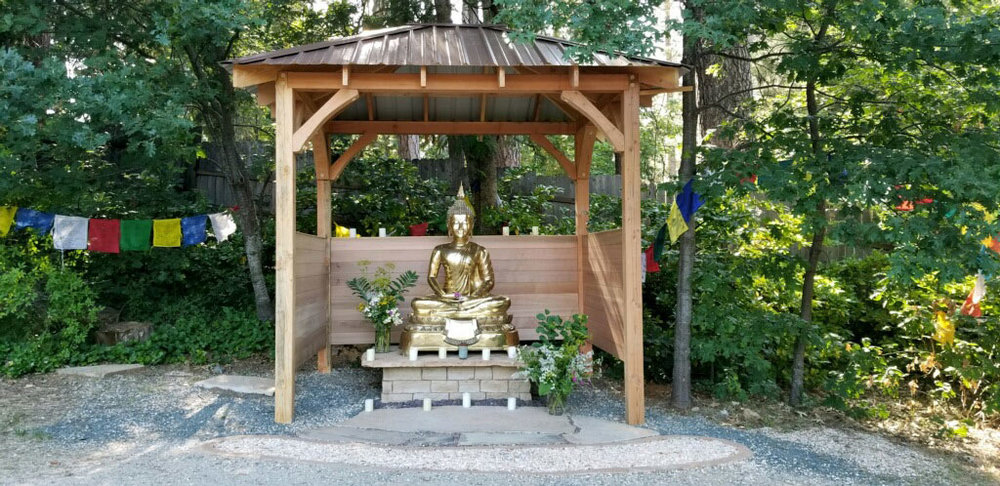 Mountain Stream's New Amitabha Buddha Temple
