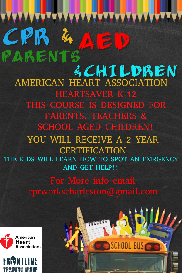Event Schedule Cpr Aed Bls Acls Charleston