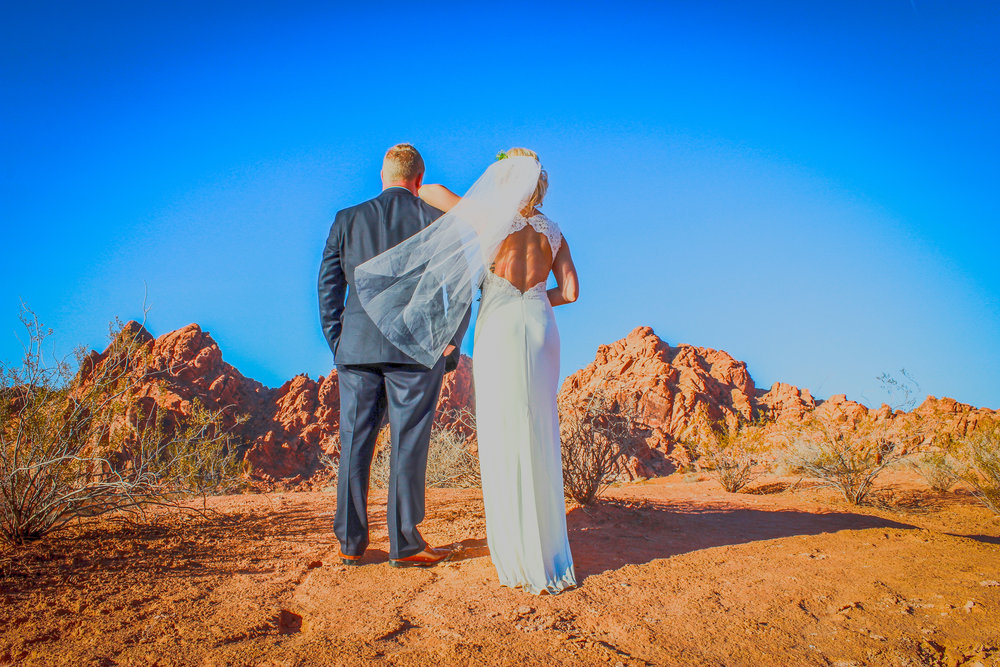 Couple at valley of fire