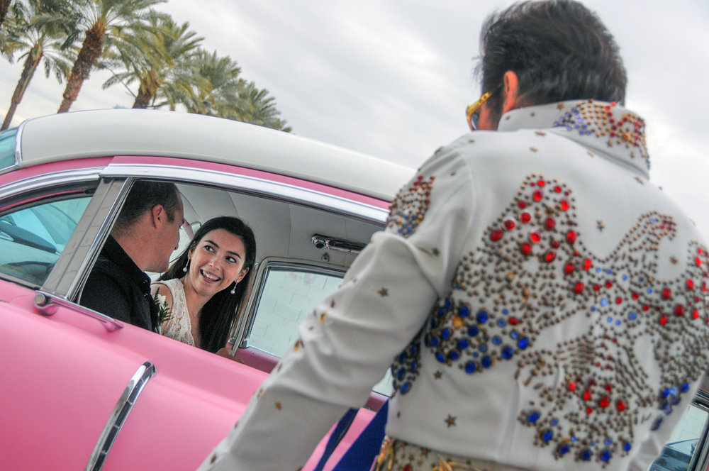 The King's Pink Cadillac Ceremony
