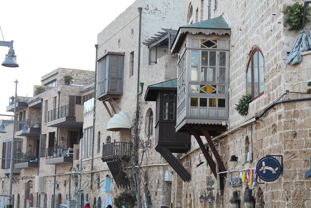 The modern city of Jaffa (ancient Joppa).