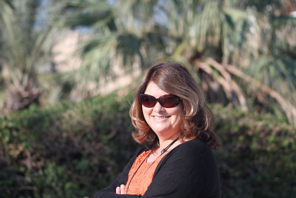 Wendy in Jaffa.