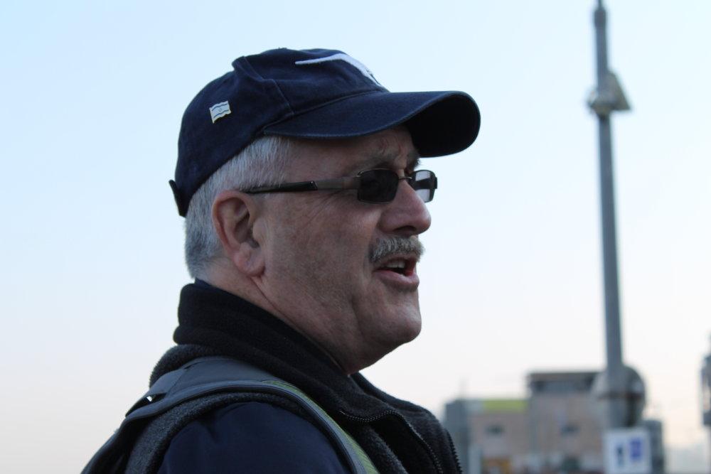 Ken teaching in Jaffa.