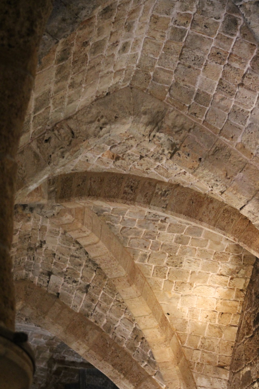 12th-century Crusader fortress in Akko (ancient Acre).