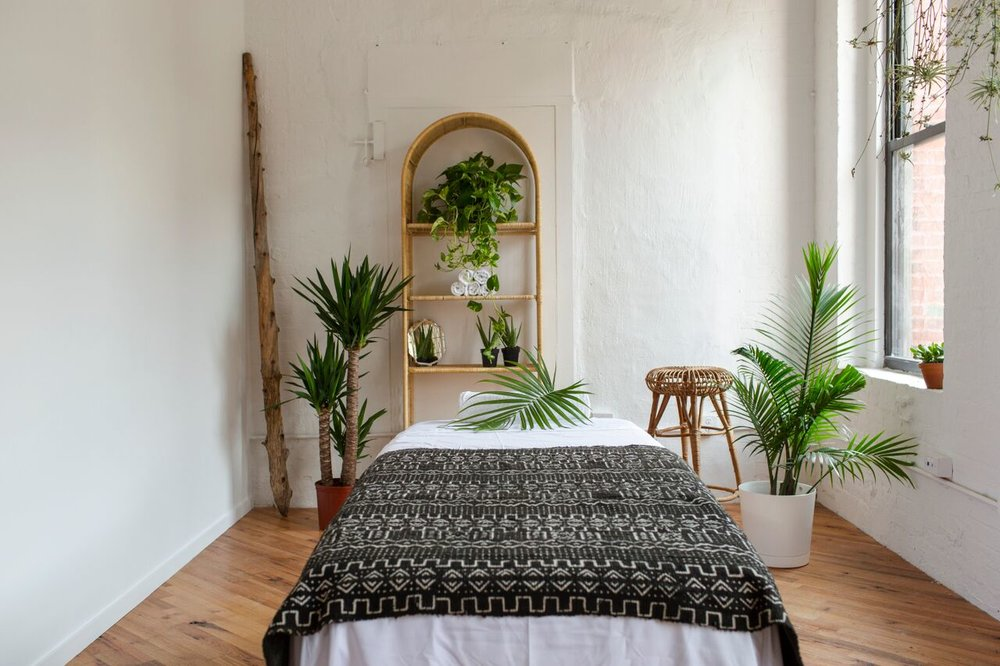 Massage Outpost in Dumbo. Photo by Elena Mudd