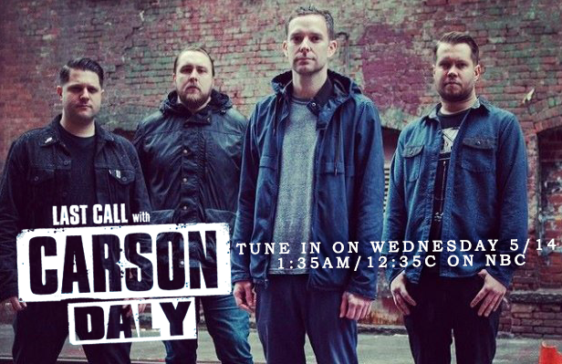 Have you heard? I Am the Avalanche will be interviewed on Last Call with Carson Daly this WEDNESDAY 5/14 at 1:35am/12:35c on NBC.