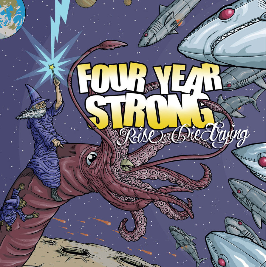 "Missed out on our Four Year Strong ""Rise or Die Trying"" vinyl pre-order?  Grab a copy on Amazon ! Oh and it comes with a FREE MP3 copy of the album."