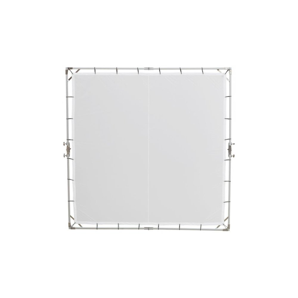 8x8 Frame with One Quarter Silk