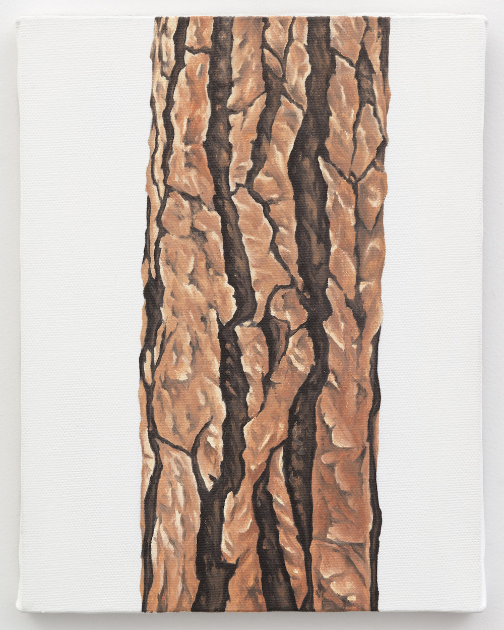"Trunk No. 5,   2013,   oil on canvas 8 7/8"" x 6 7/8"""