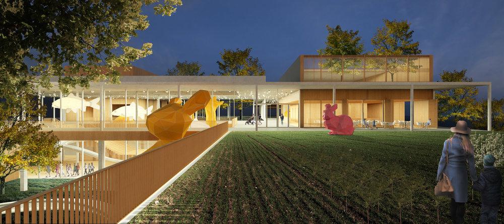 Children's Museum terrace