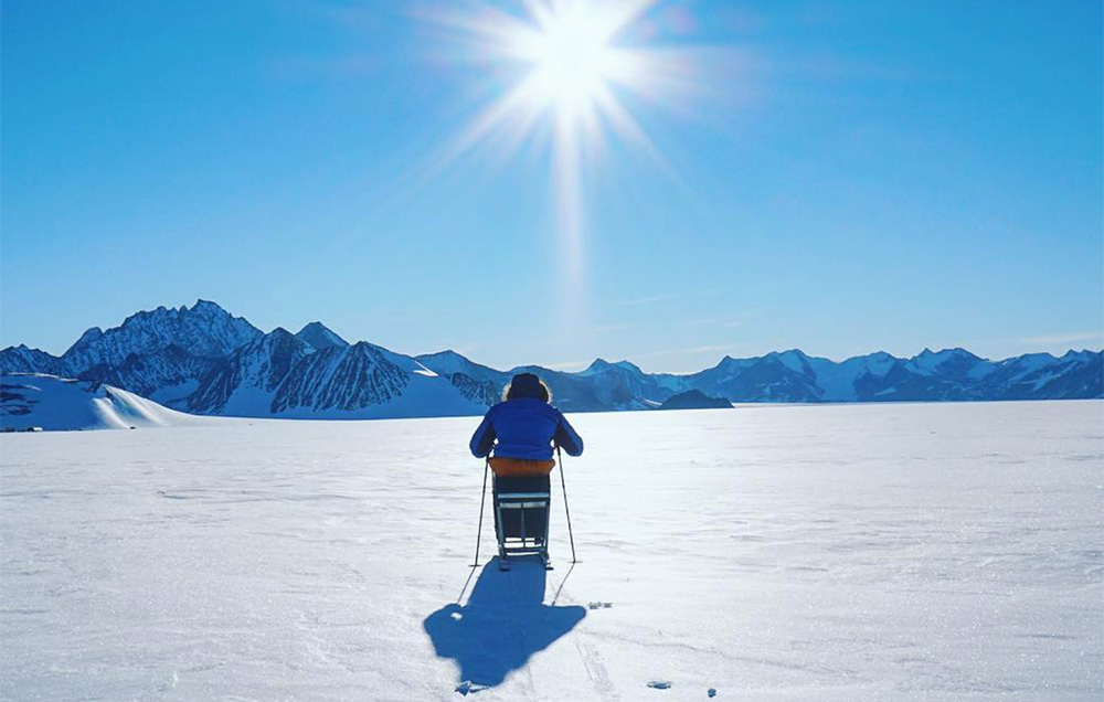 Meet the World's First Guy To Reach the South Pole In a Wheelchair - Aron Anderson froze his butt off for childhood cancer research, and shows us what a real arm day looks like