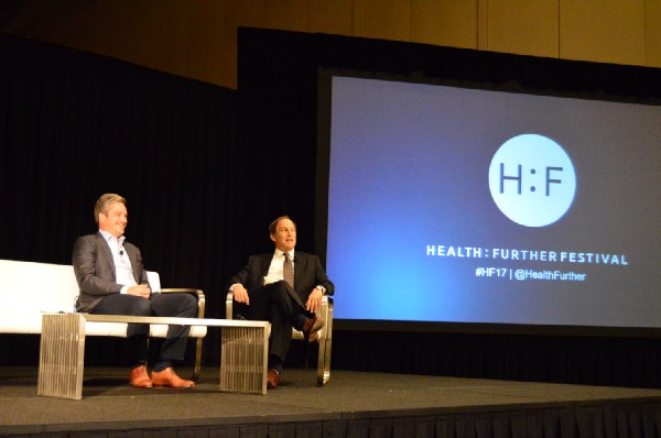 Briovation CEO and co-founder Vic Gatto with Hedgeye Healthcare Sector Head Tom Tobin